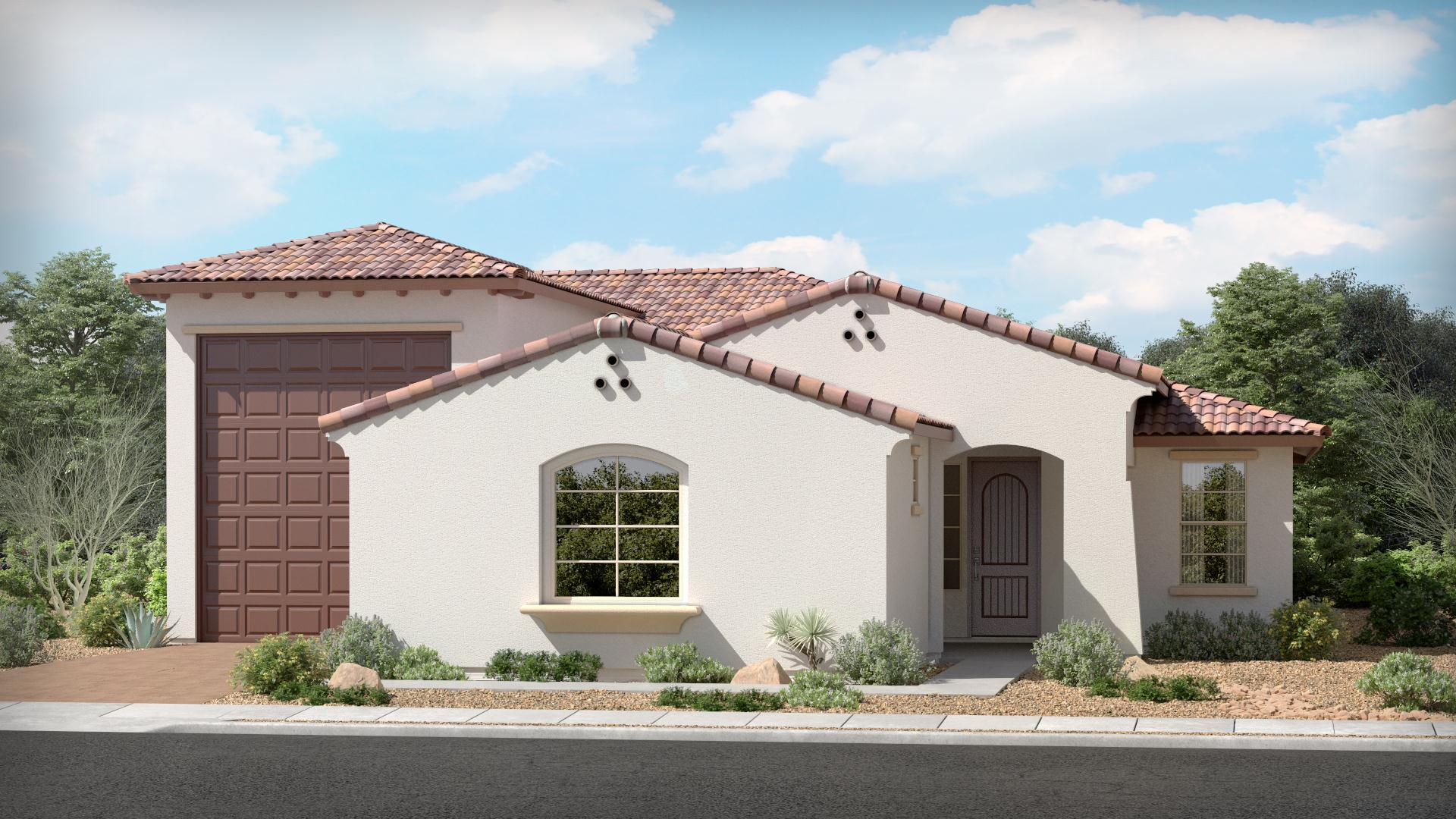 Exterior featured in The Ruby | Plan 50.2090RV By Brown Homes AZ in Prescott, AZ
