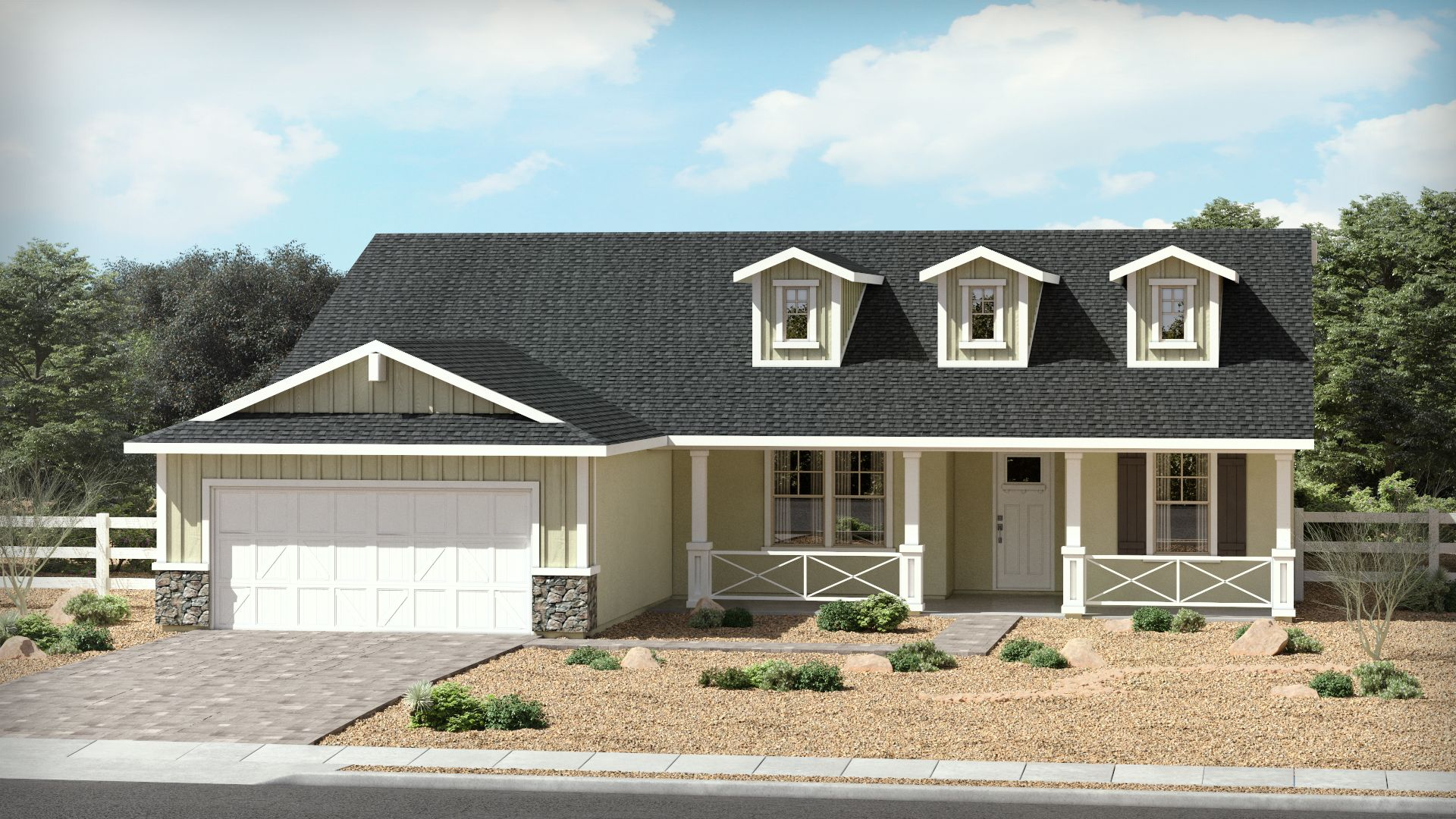 Exterior featured in The Meadow By Brown Homes AZ in Prescott, AZ