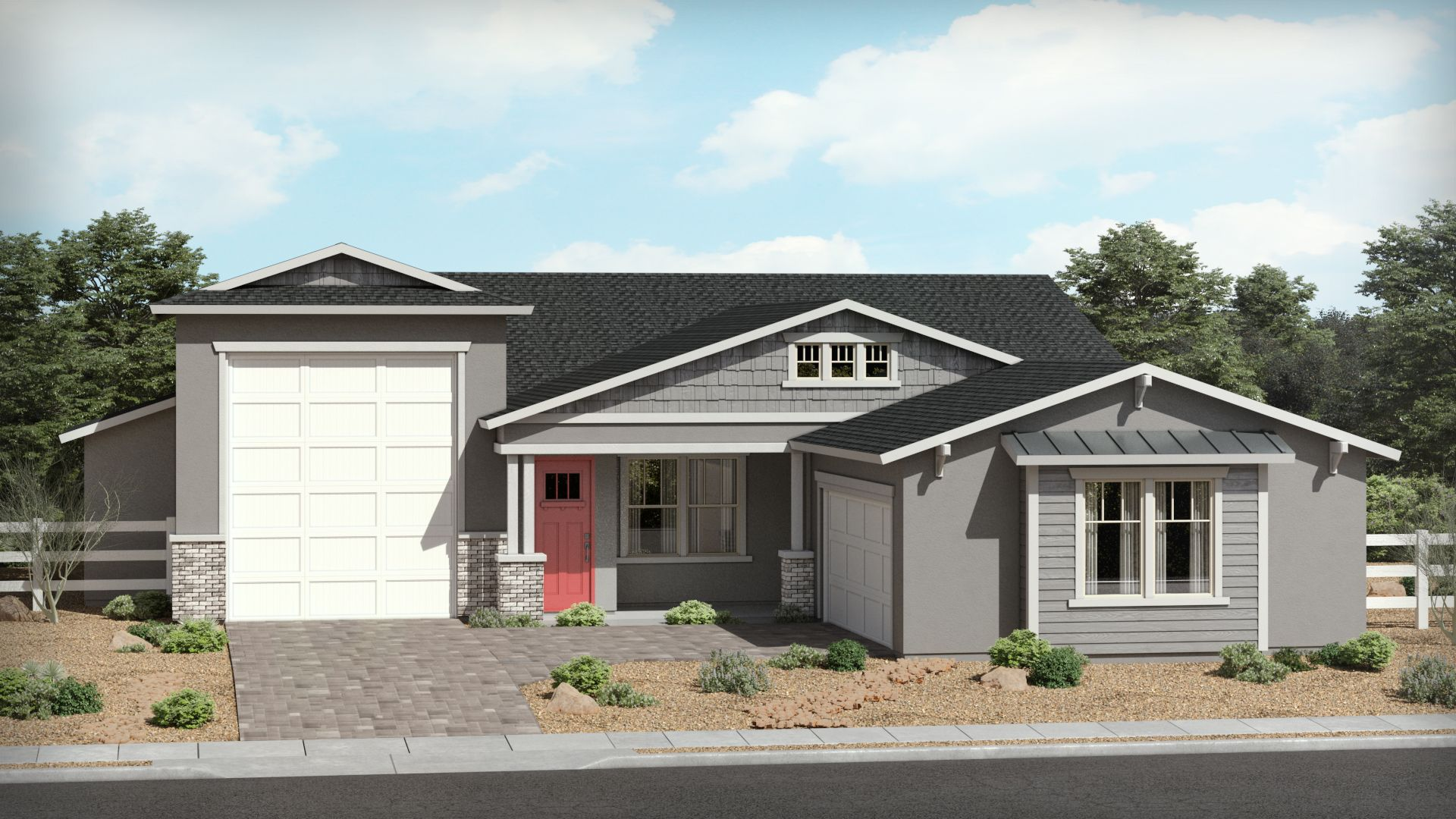 Exterior featured in The Orchard By Brown Homes AZ in Prescott, AZ