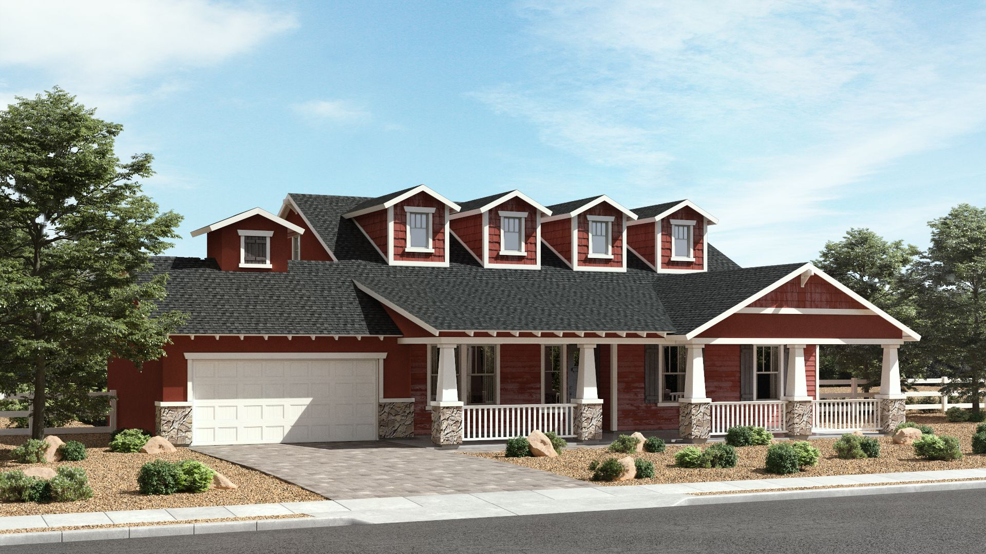 Exterior featured in The Homestead By Brown Homes AZ in Prescott, AZ