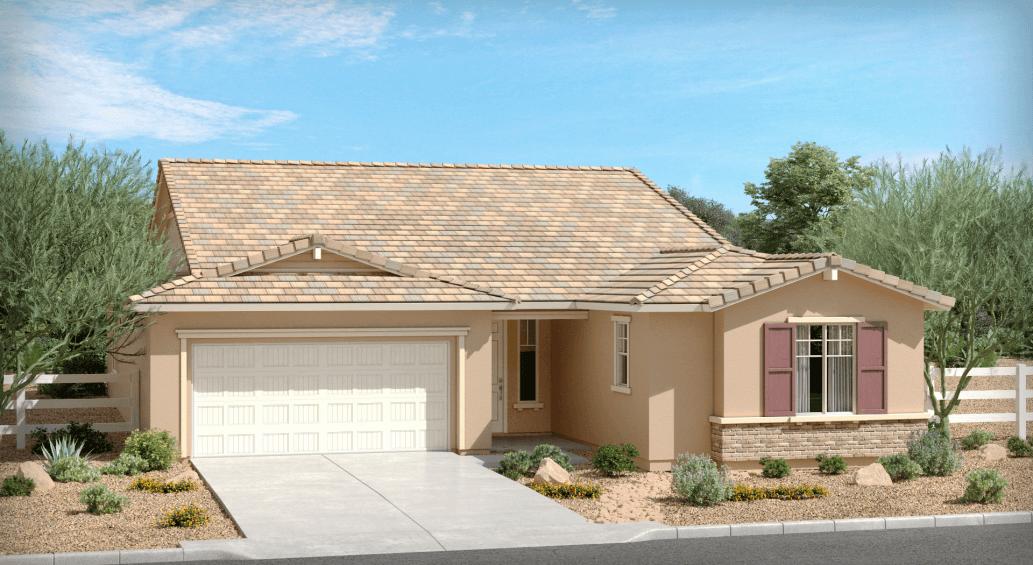 Exterior featured in The Dartmoor By Brown Homes AZ in Phoenix-Mesa, AZ