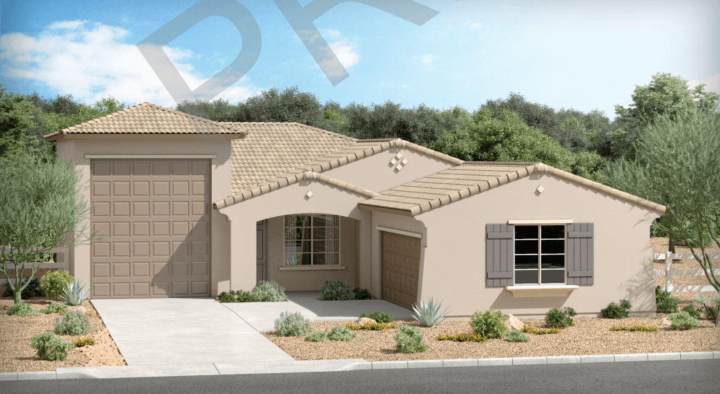 Exterior featured in The Appaloosa By Brown Homes AZ in Phoenix-Mesa, AZ