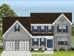 The Augusta Traditional at Waverly Pointe:The Augusta - Traditional Elevation