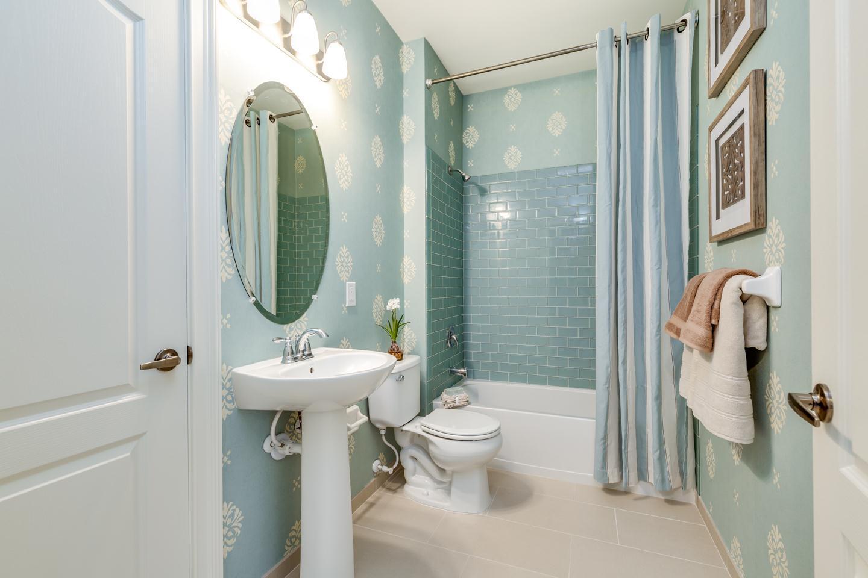 Bathroom featured in The Marigold By Bruce Paparone, Inc. in Philadelphia, NJ