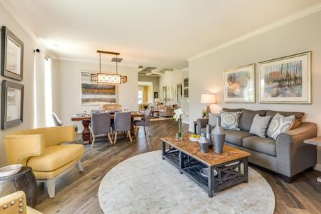 Greatroom-and-Dining-in-The Hawthorn-at-The Village of Country Gardens-in-Sewell