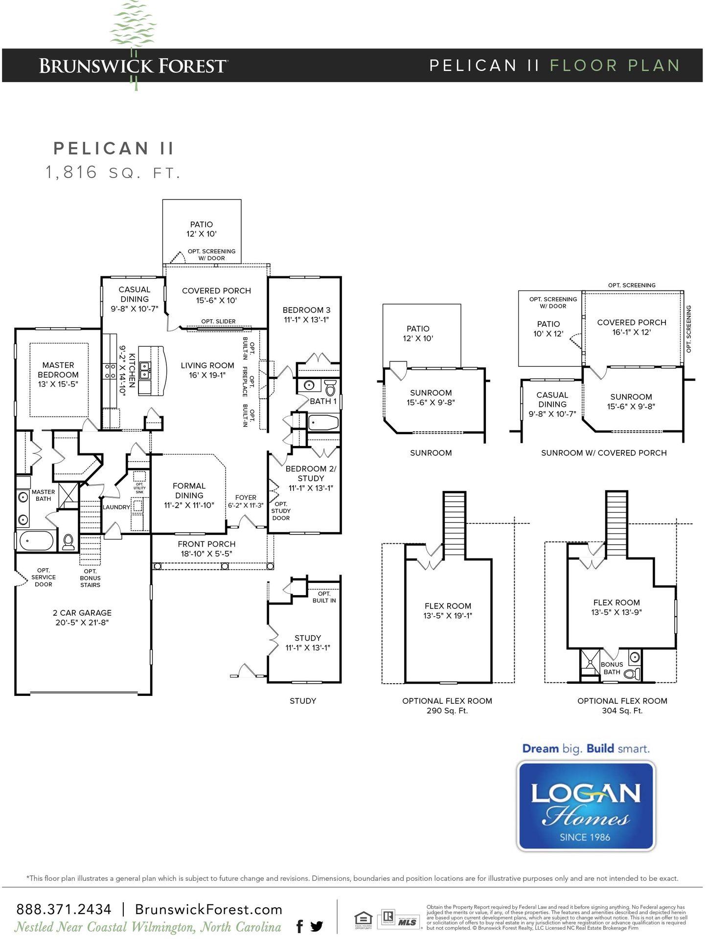 Pelican II Plan, Leland, North Carolina 28451 - Pelican II Plan at ...