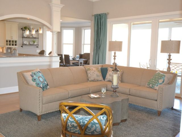 Living Area featured in the Jarrett Bay By Brunswick Forest in Wilmington, NC