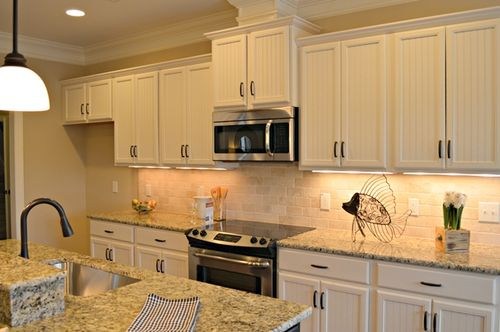 Kitchen-in-Pelican II-at-Meadow Park at Brunswick Forest-in-Leland