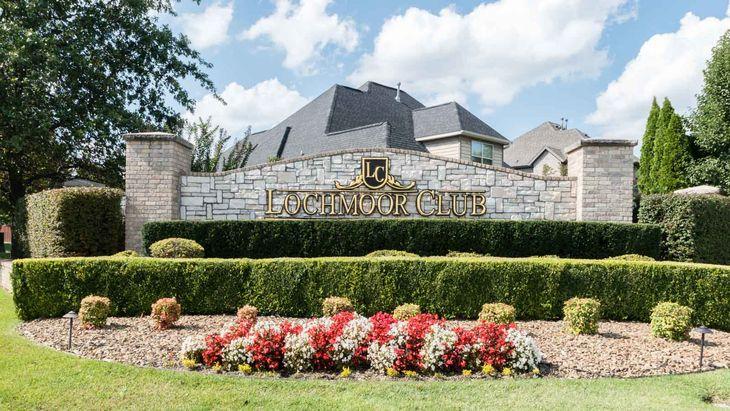 Lochmoor Club:Entrance
