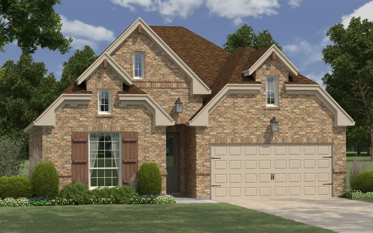 Exterior featured in the Dogwood By Buffington Homes in Fayetteville, AR
