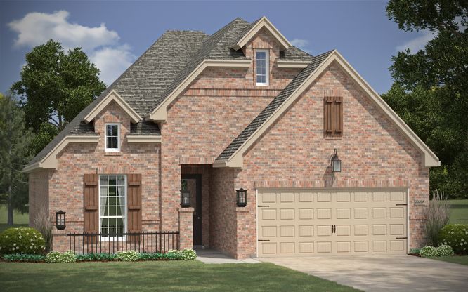 Walnut Plan At The Parks At Brighton In Bentonville Ar By
