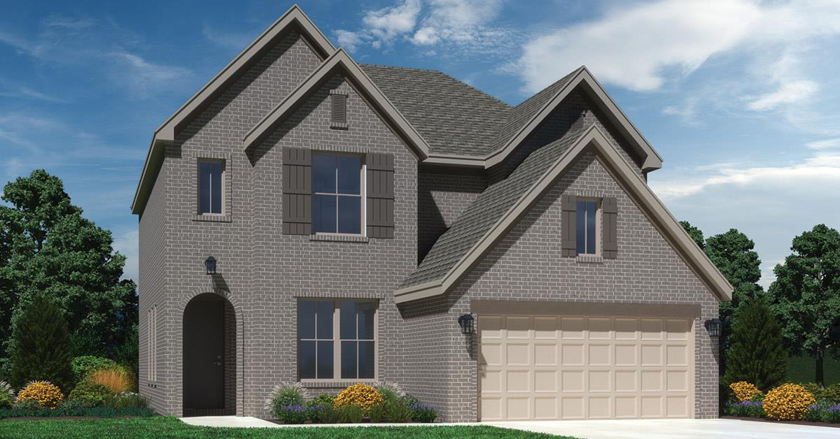 Exterior featured in the Drayton By Buffington Homes in Fayetteville, AR