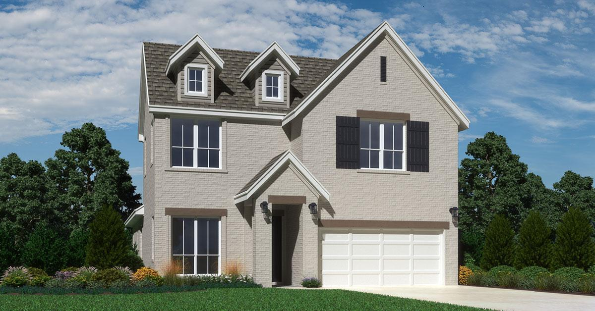 Exterior featured in the Gramercy By Buffington Homes in Fayetteville, AR
