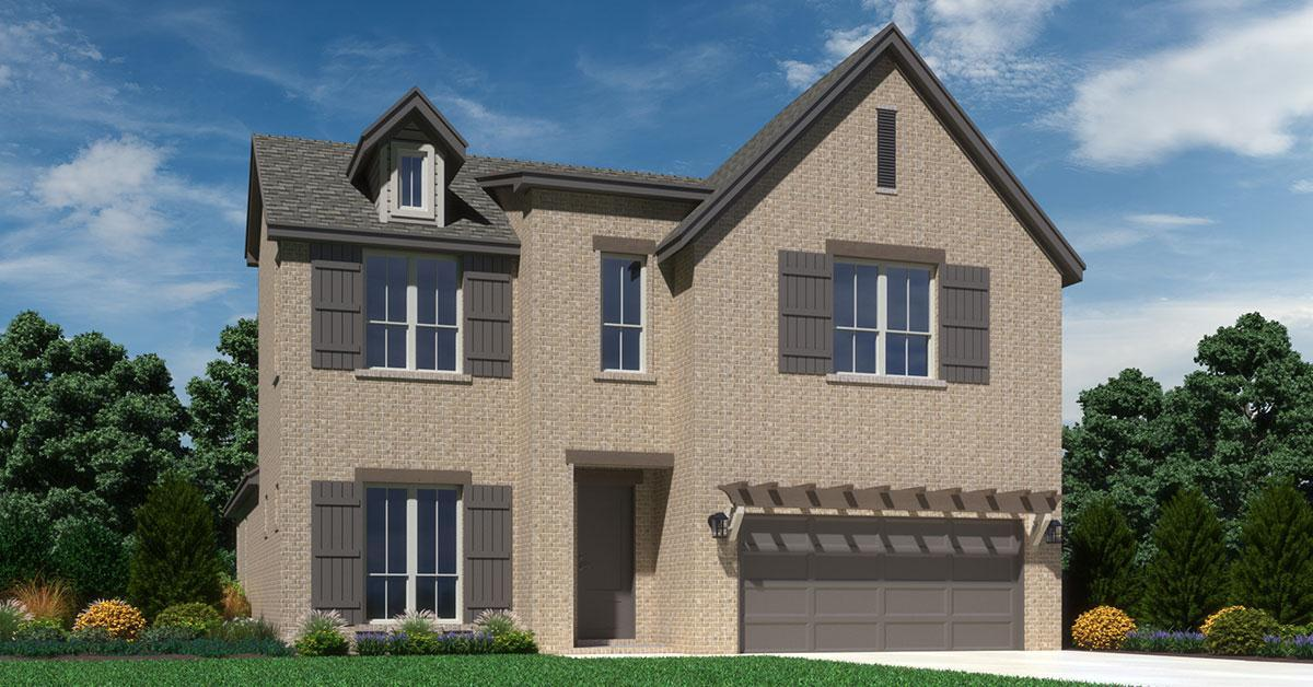 Exterior featured in the Kensington By Buffington Homes in Fayetteville, AR