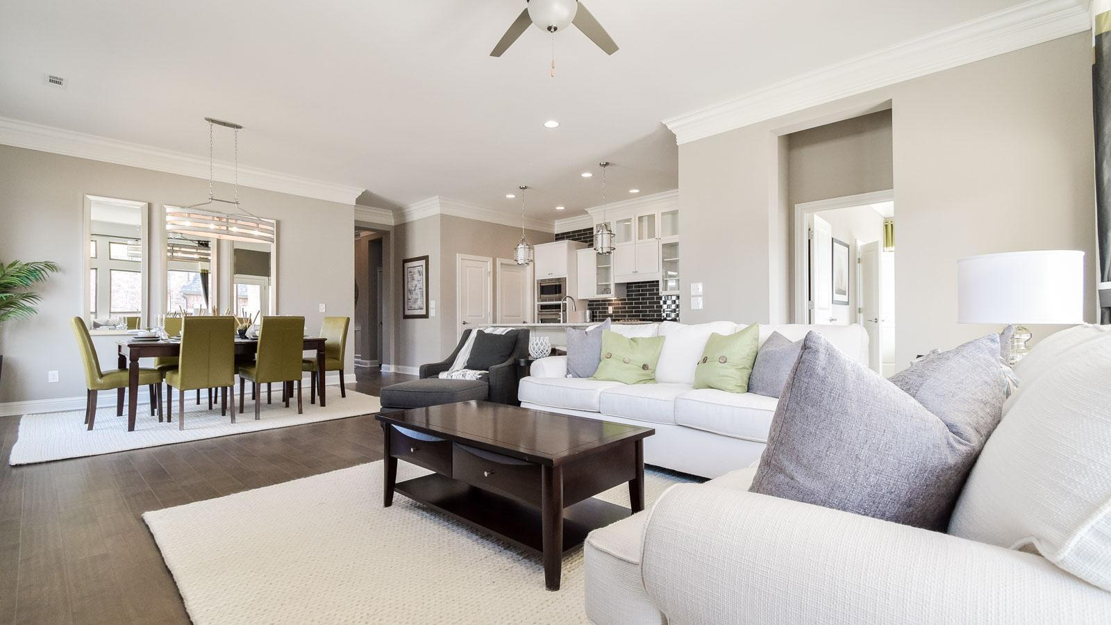 Living Area featured in the Dogwood By Buffington Homes in Fayetteville, AR