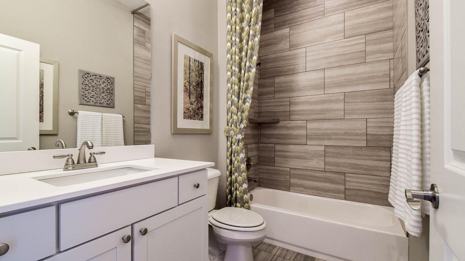 Bathroom featured in the Dogwood By Buffington Homes in Fayetteville, AR