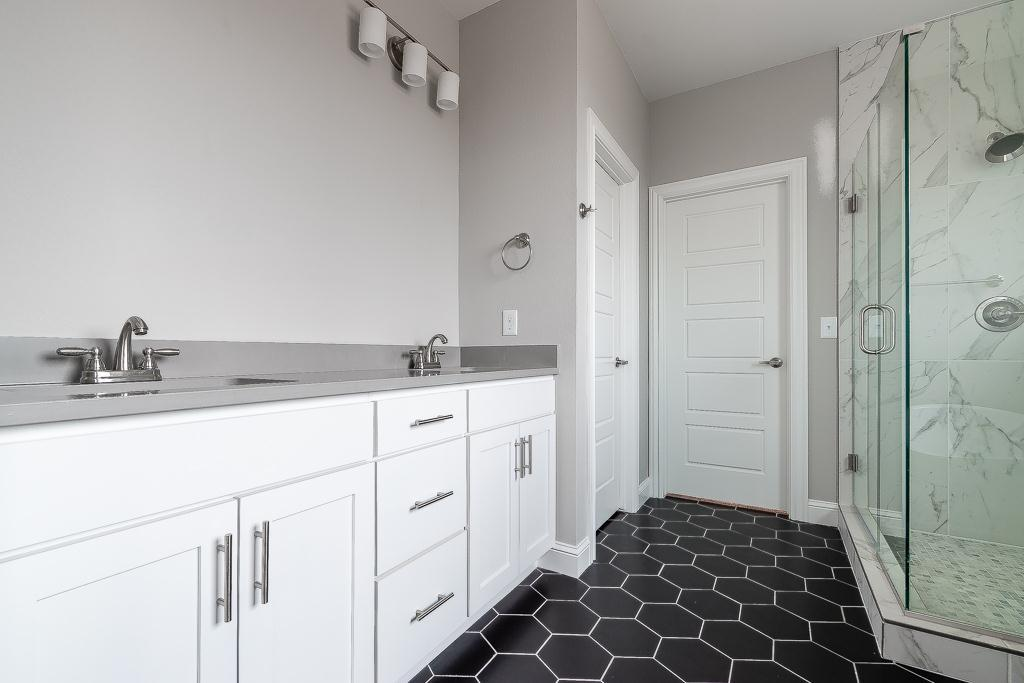 Bathroom featured in the Belmont By Buffington Homes in Fayetteville, AR