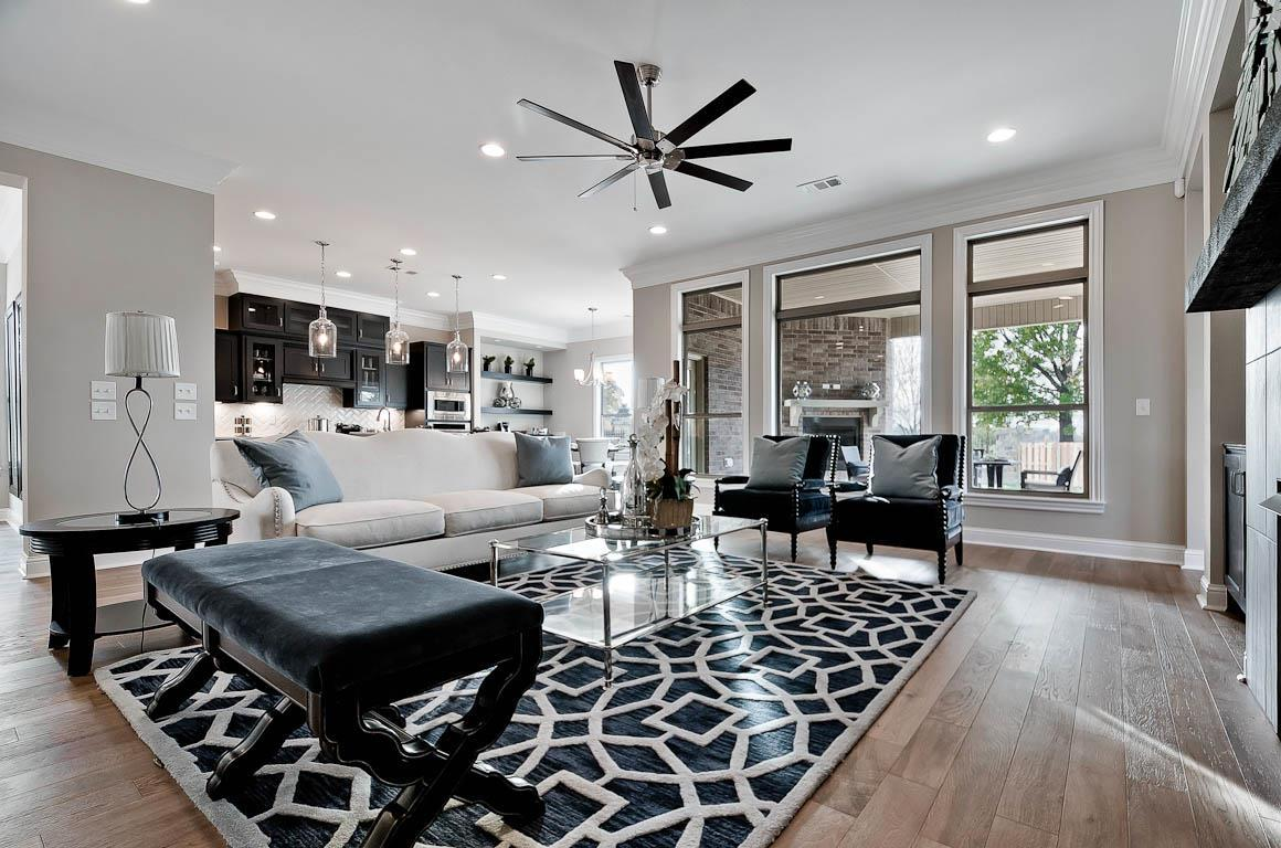 Living Area featured in the Lincoln By Buffington Homes in Fayetteville, AR