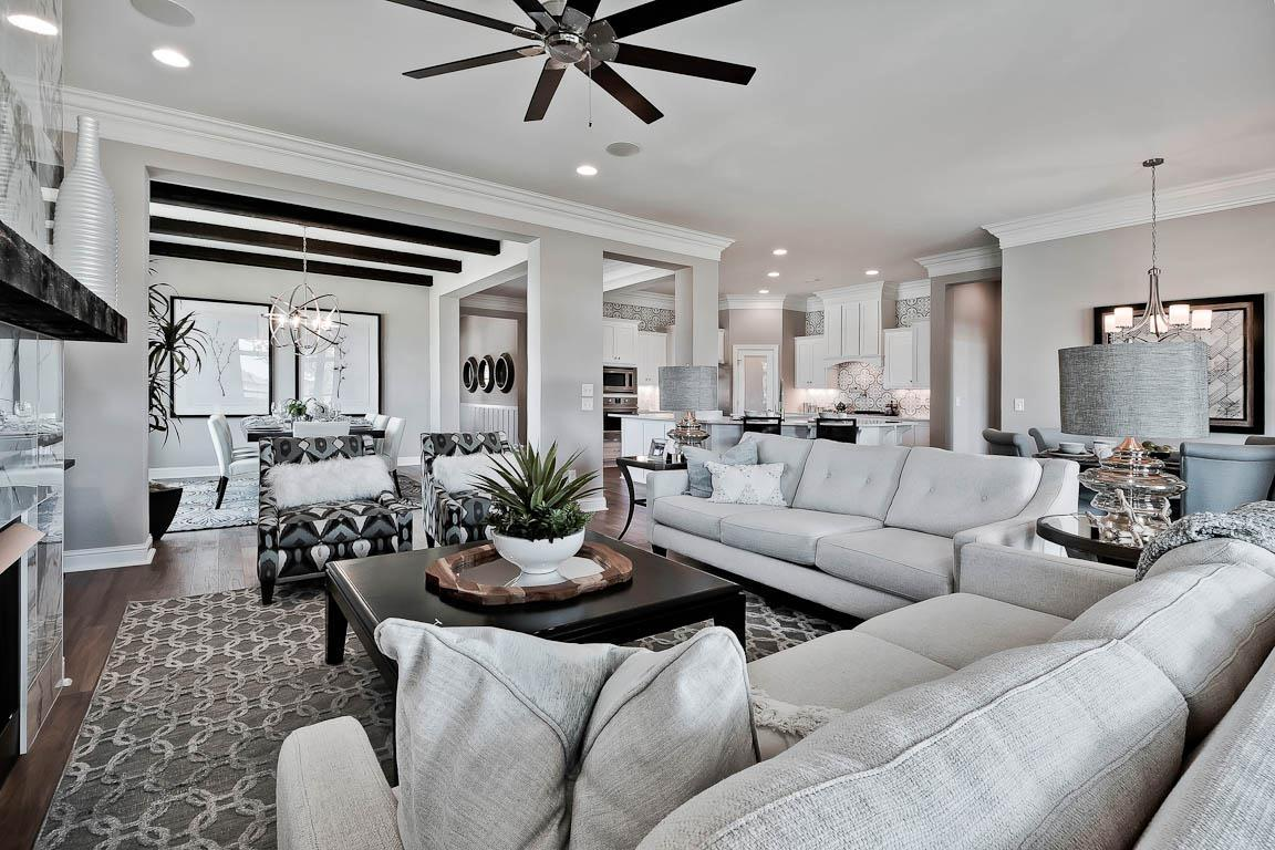 Living Area featured in the Madison By Buffington Homes in Fayetteville, AR