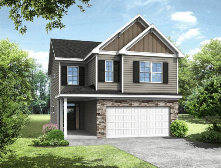 Exterior featured in the Carson 3 Bedroom By Buildonyourlandllc in Columbia, SC