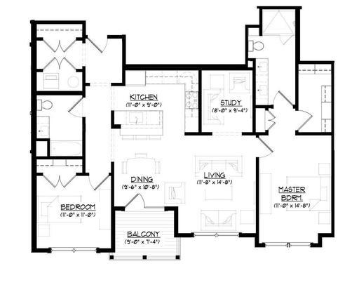 The Bannerman:Floor plan