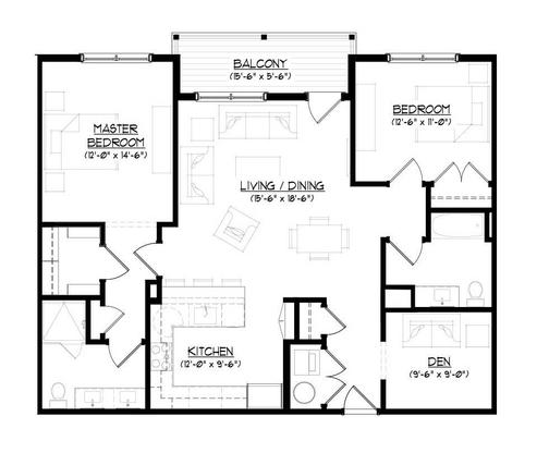 The Constitution B:Floor plan