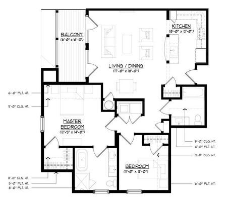 The Garrison:Floor plan