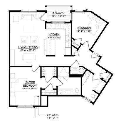 The Putnam:Floor plan