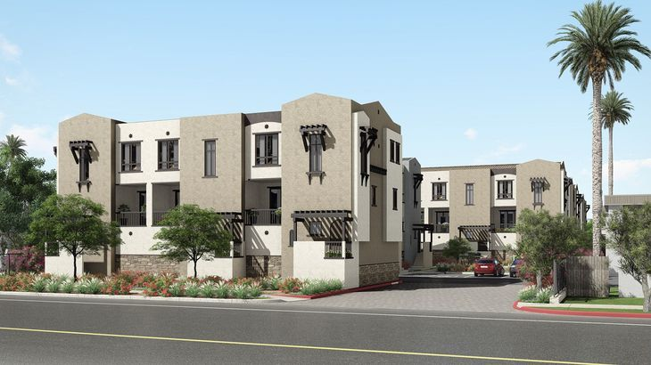 Street View of Montivo Townhomes