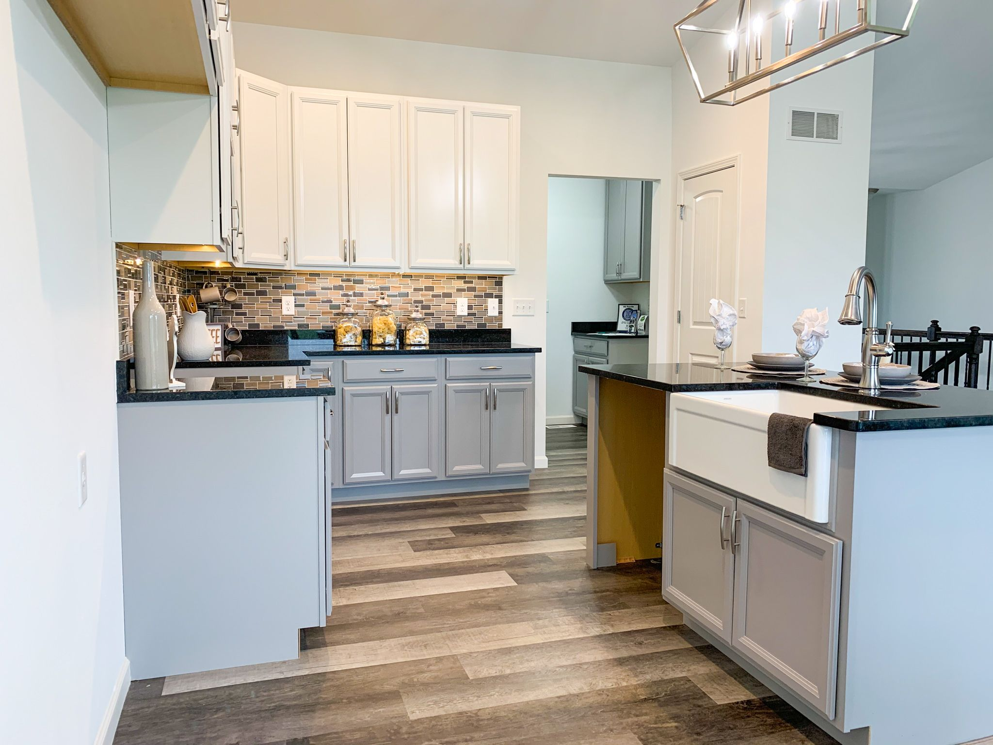 Kitchen featured in the Alexandria By C.A. Jones, Inc.  in St. Louis, IL