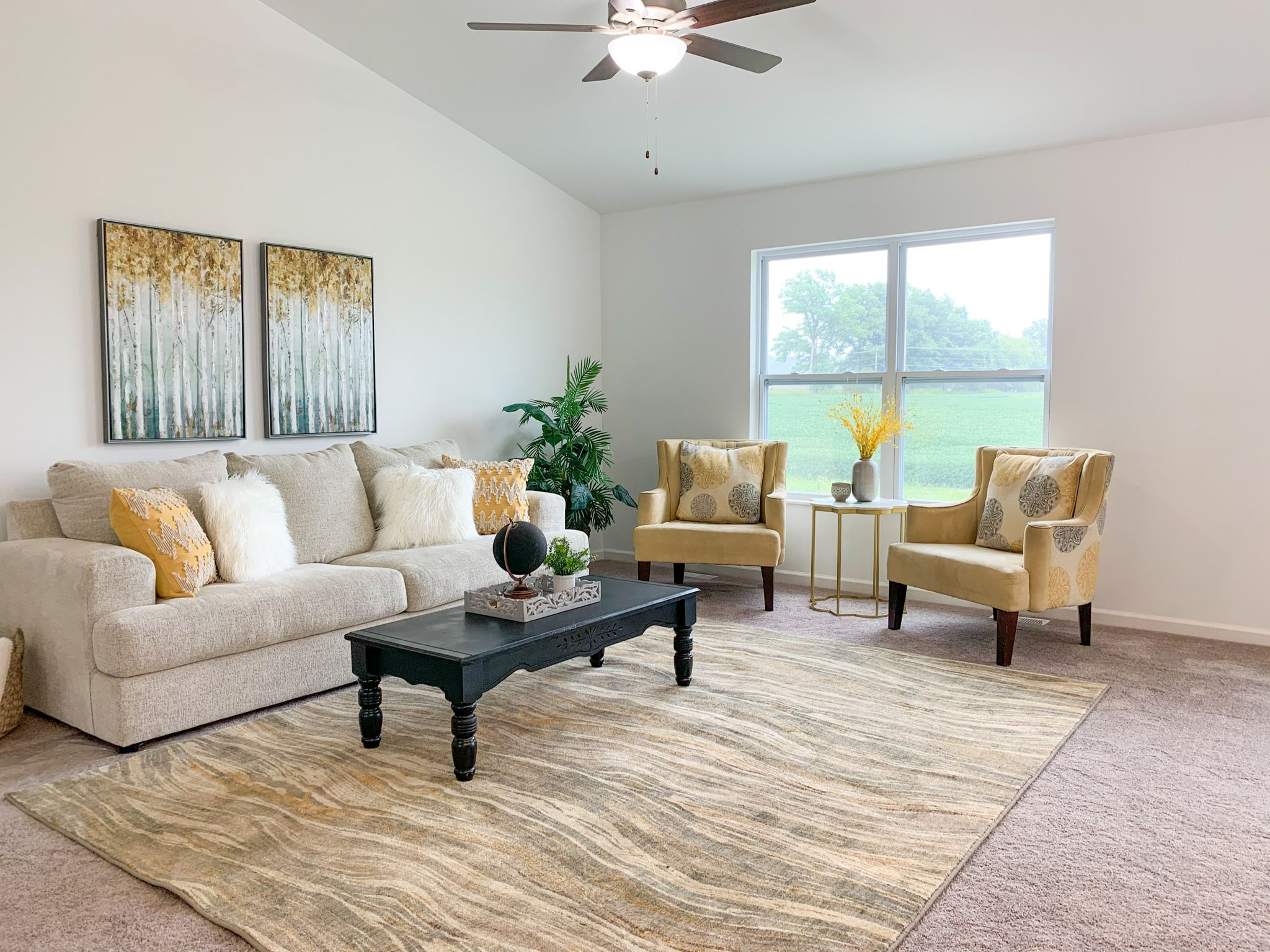 Living Area featured in the Alexandria By C.A. Jones, Inc.  in St. Louis, IL