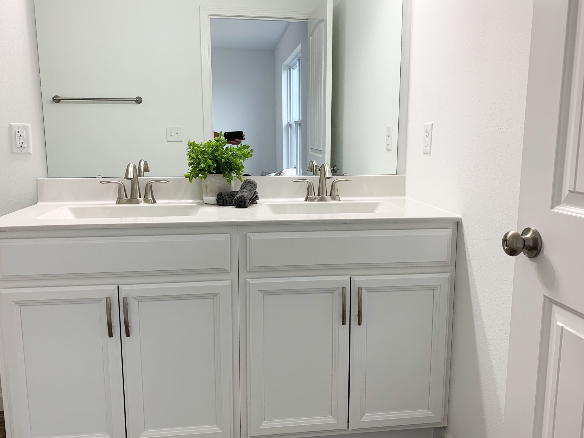 Bathroom featured in the Alexandria By C.A. Jones, Inc.  in St. Louis, IL