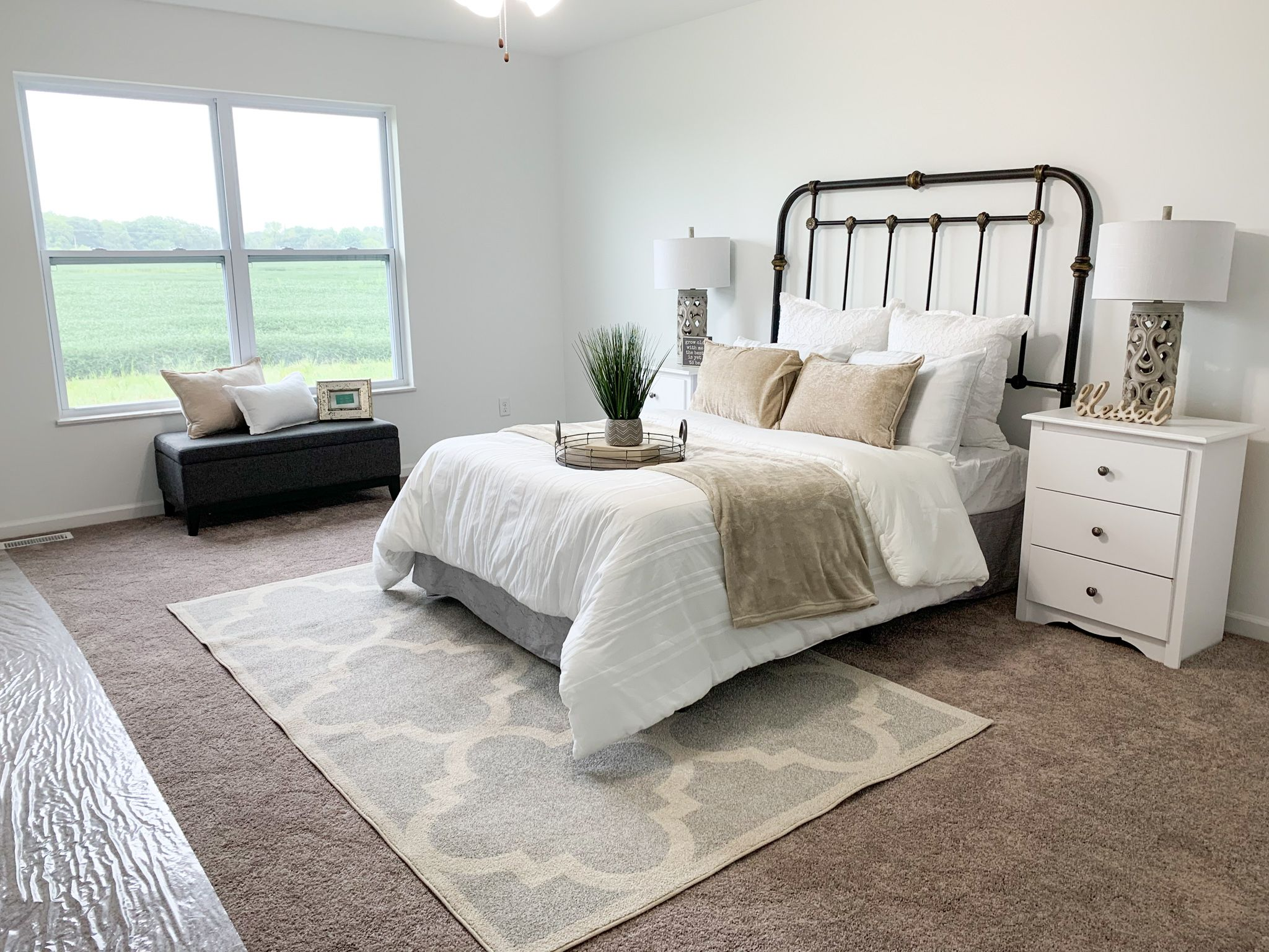 Bedroom featured in the Alexandria By C.A. Jones, Inc.  in St. Louis, IL