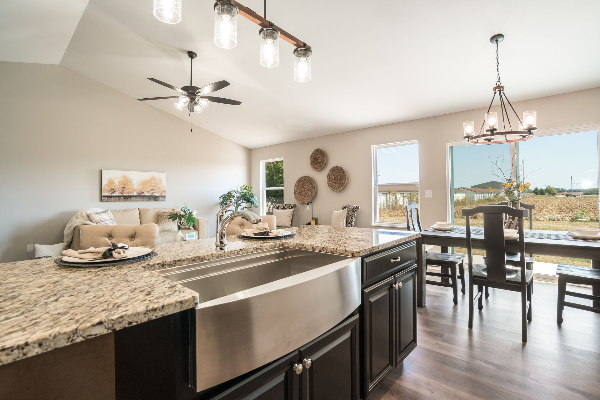 Kitchen featured in the Calais II By C.A. Jones, Inc.  in St. Louis, IL