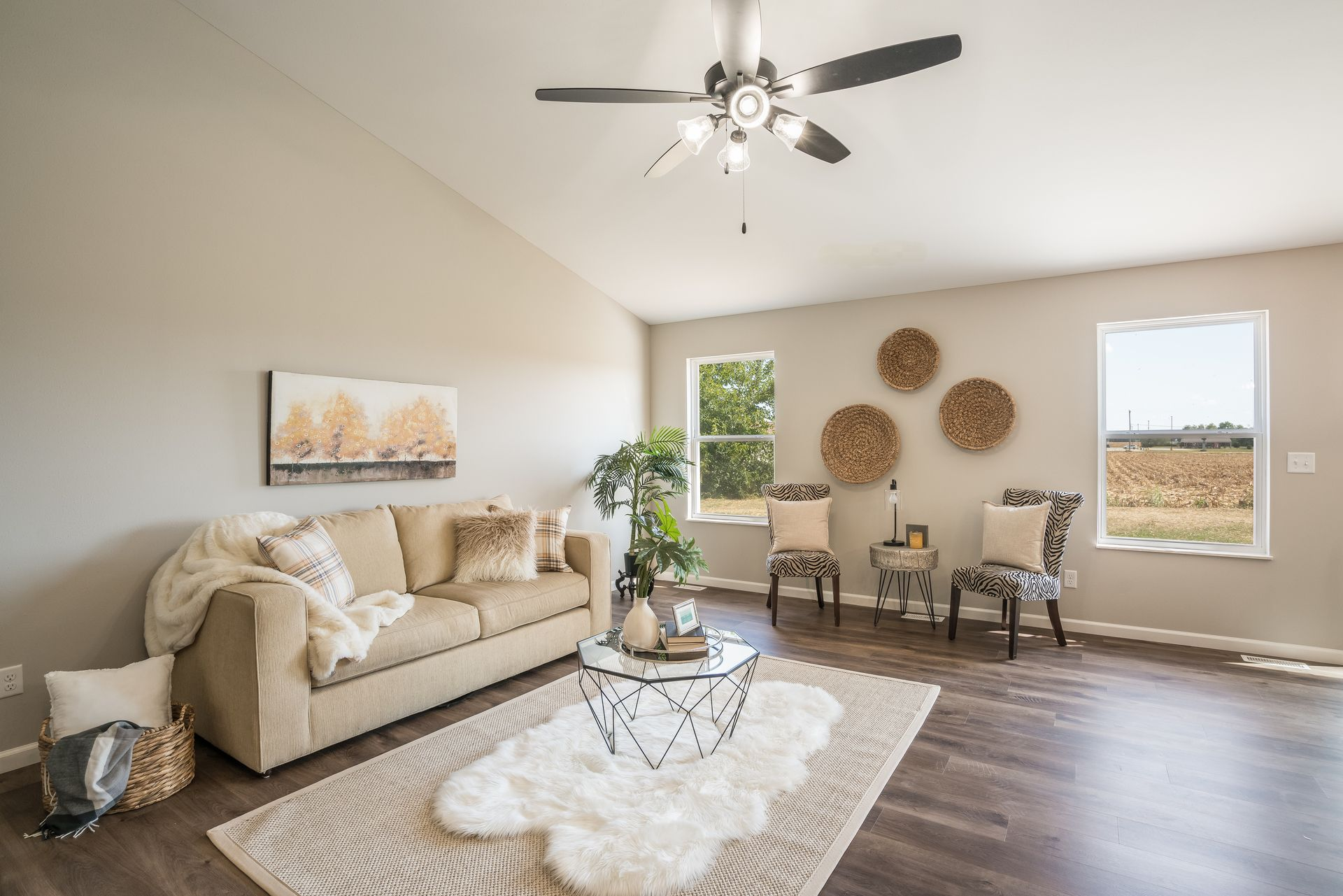 Living Area featured in the Calais II By C.A. Jones, Inc.  in St. Louis, IL