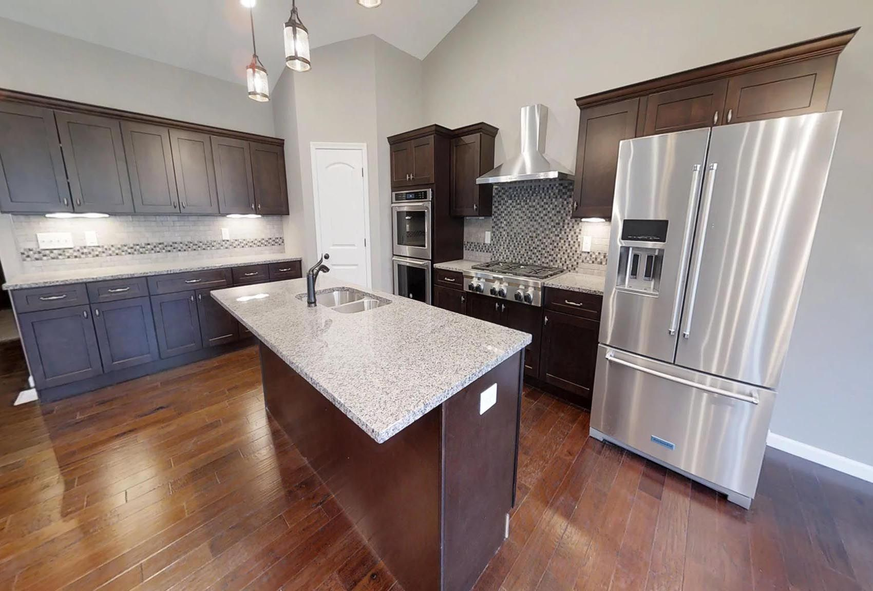 Kitchen featured in the Carswell By C.A. Jones, Inc.  in St. Louis, IL