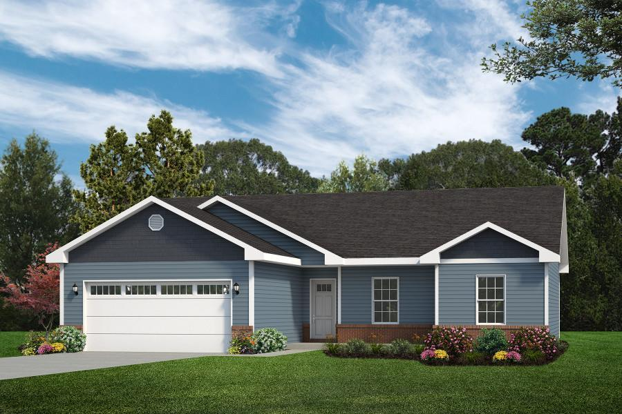 Exterior featured in the Calais II By C.A. Jones, Inc.  in St. Louis, IL