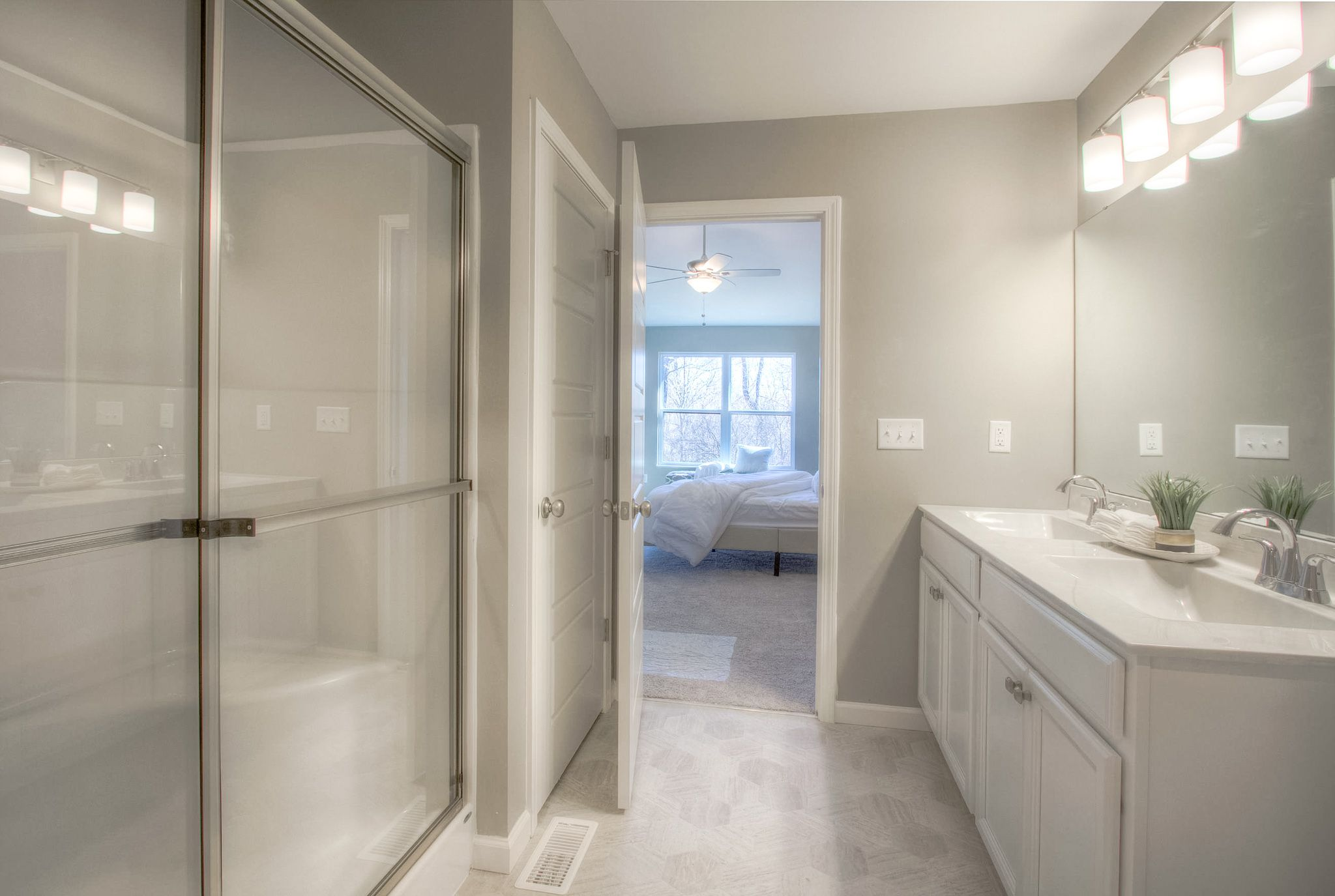 Bathroom featured in the Houston B By C.A. Jones, Inc.  in St. Louis, IL