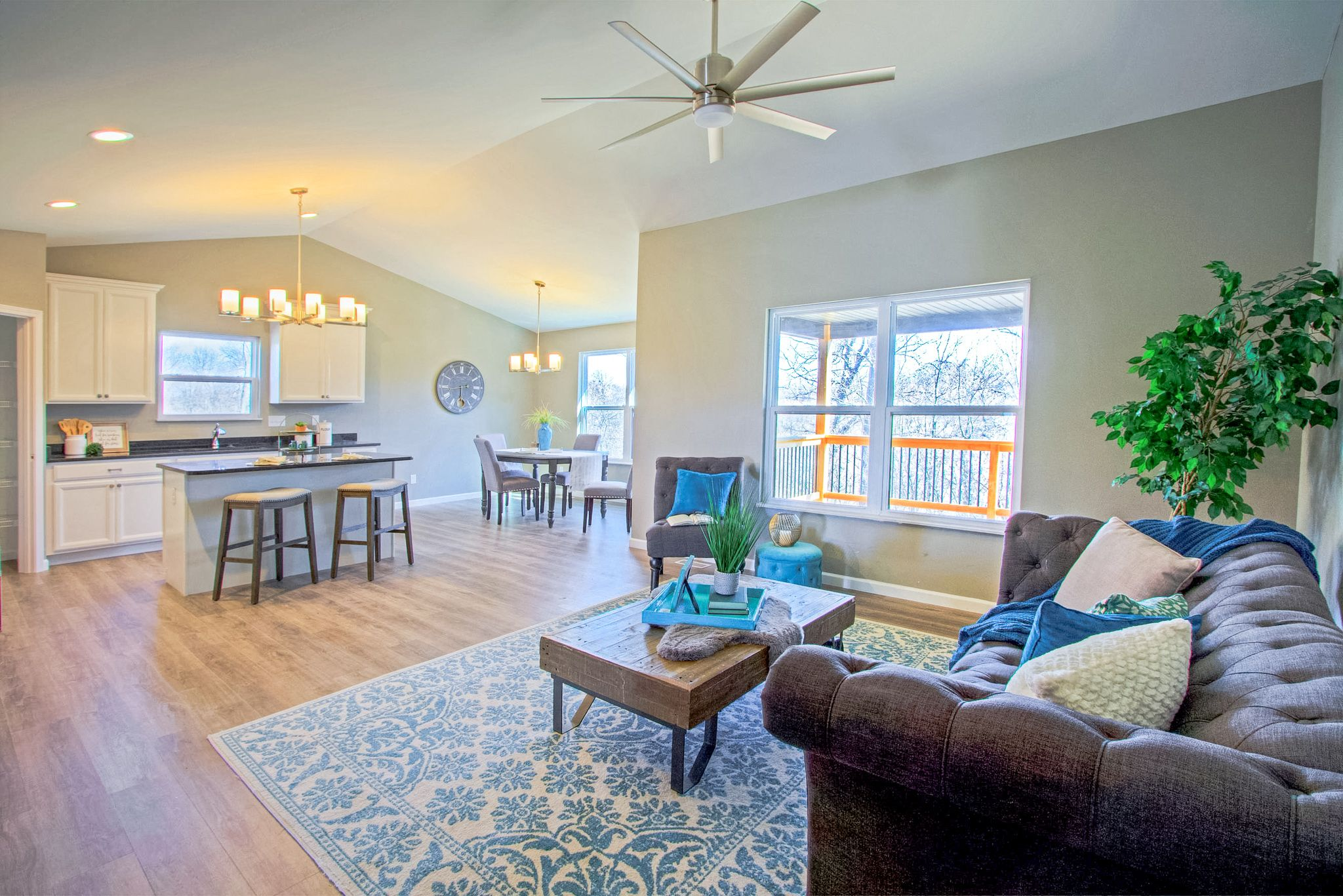 Living Area featured in the Houston B By C.A. Jones, Inc.  in St. Louis, IL