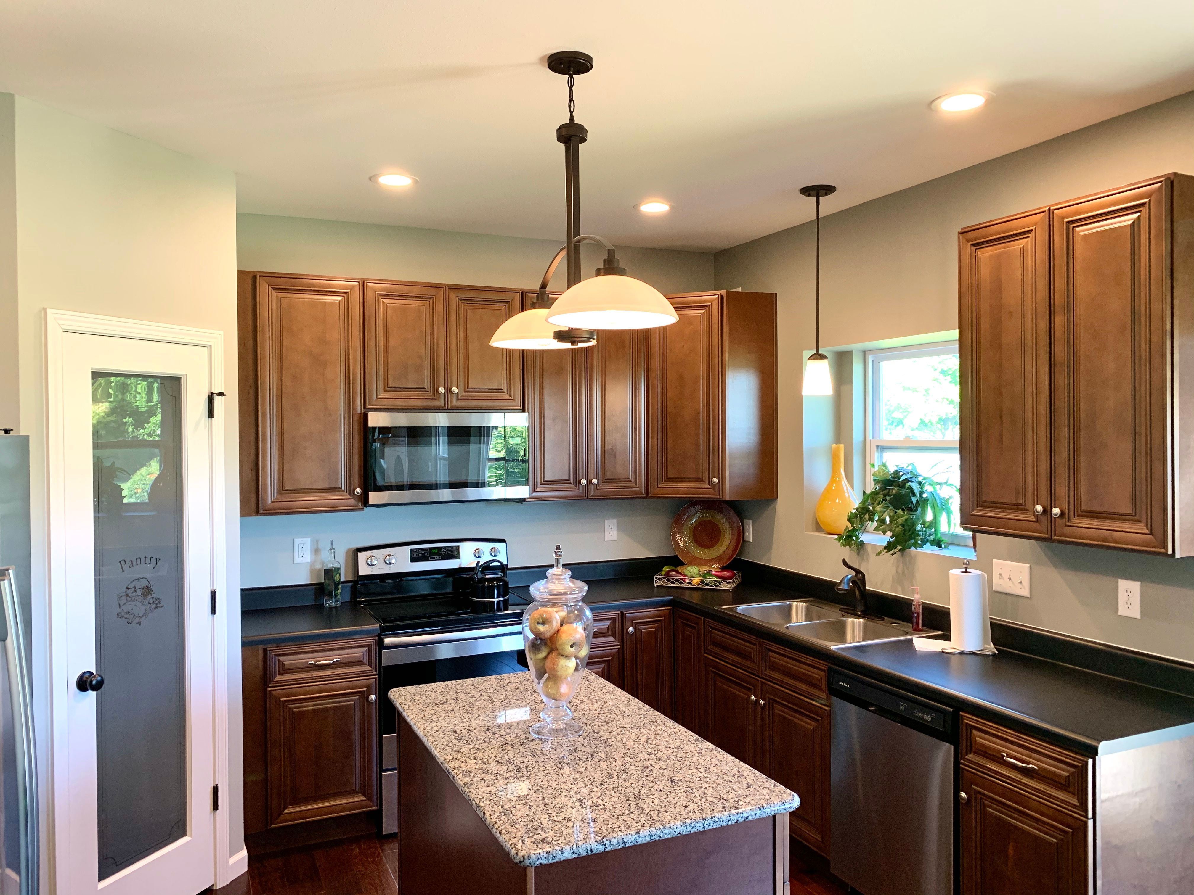 Kitchen featured in the Saffron By C.A. Jones, Inc.  in St. Louis, IL