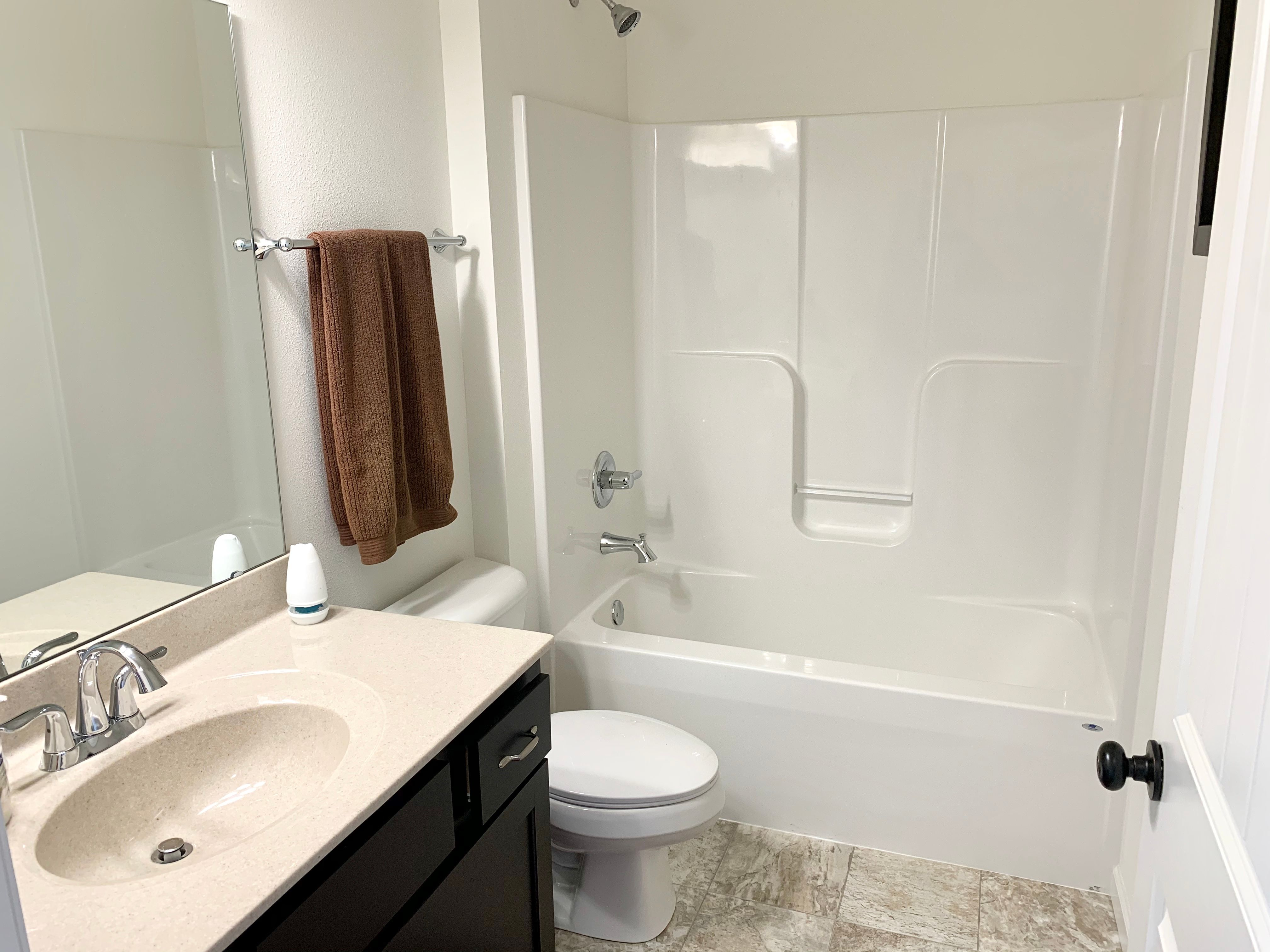 Bathroom featured in the Saffron By C.A. Jones, Inc.  in St. Louis, IL