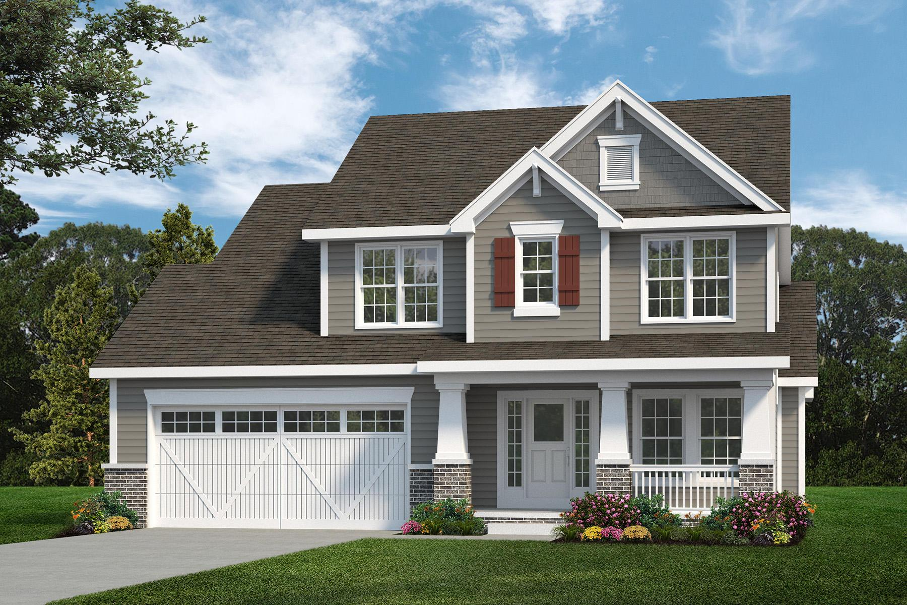 Exterior featured in the Chesapeake By C.A. Jones, Inc.  in St. Louis, IL