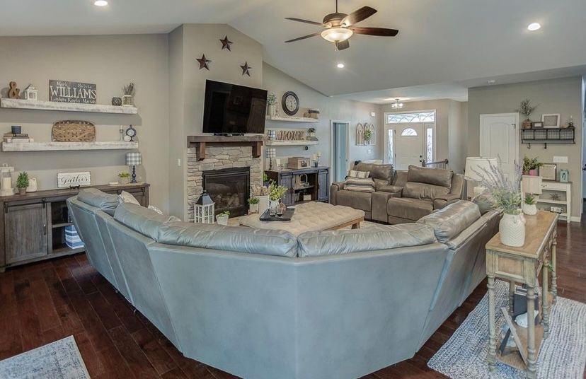Living Area featured in the Carswell  By C.A. Jones, Inc.  in St. Louis, IL