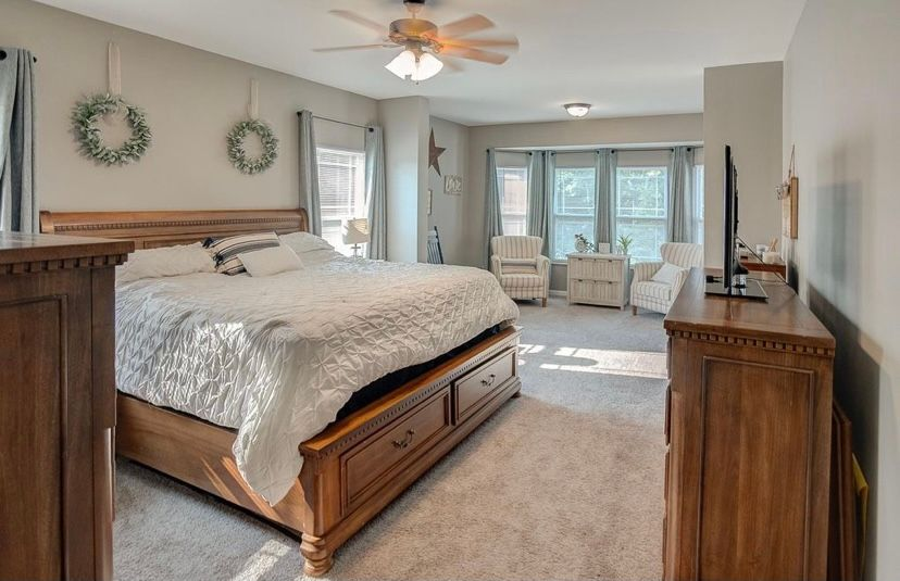 Bedroom featured in the Carswell  By C.A. Jones, Inc.  in St. Louis, IL