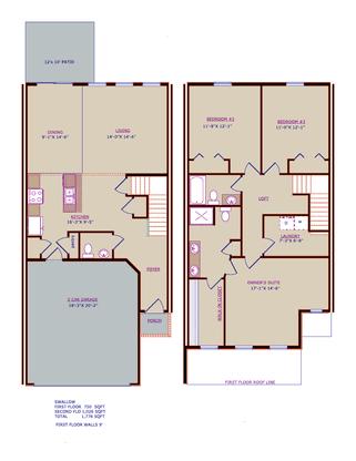 The Swallow floor plan