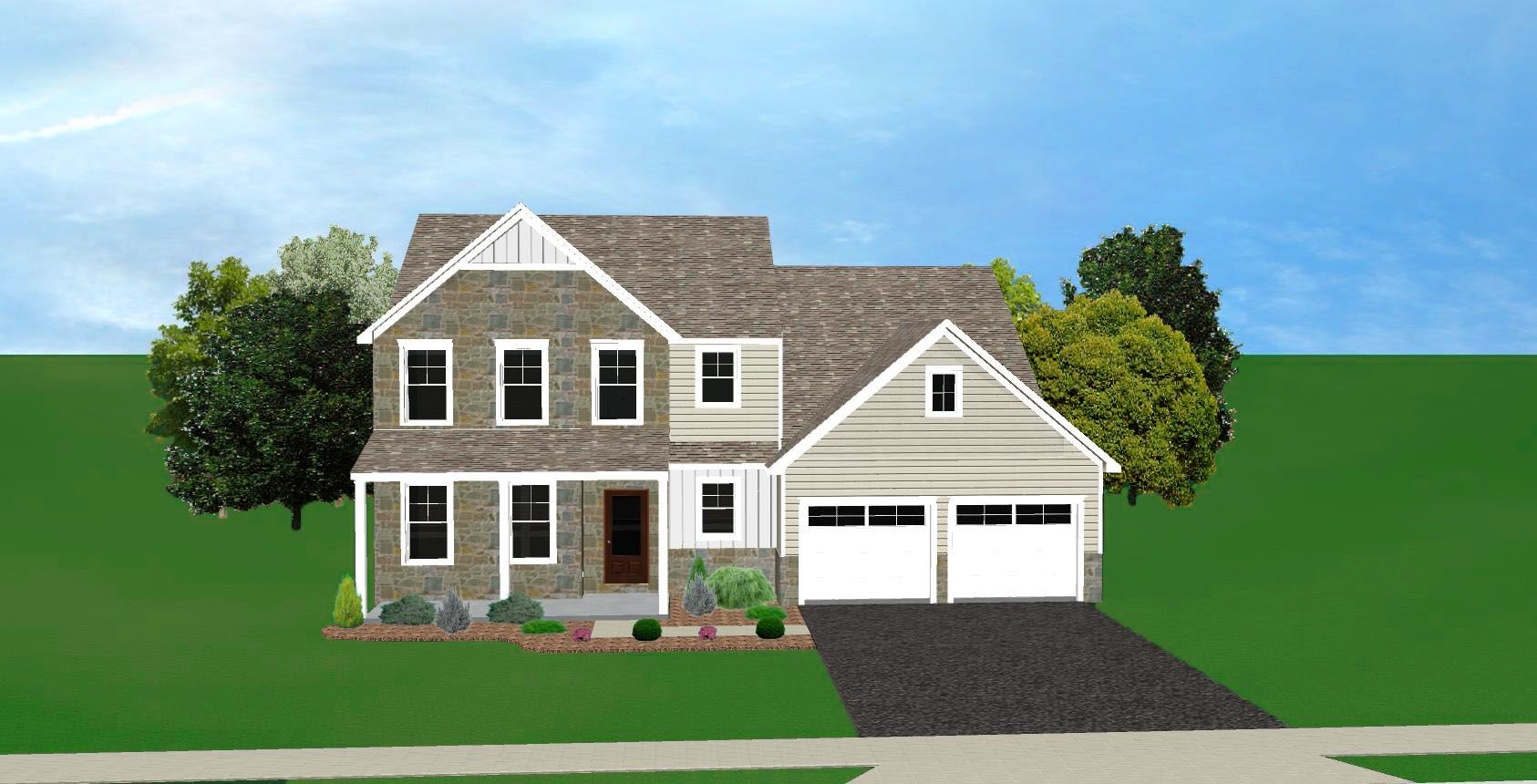 Exterior featured in The Walnut By CB Burkholder Inc. in Harrisburg, PA