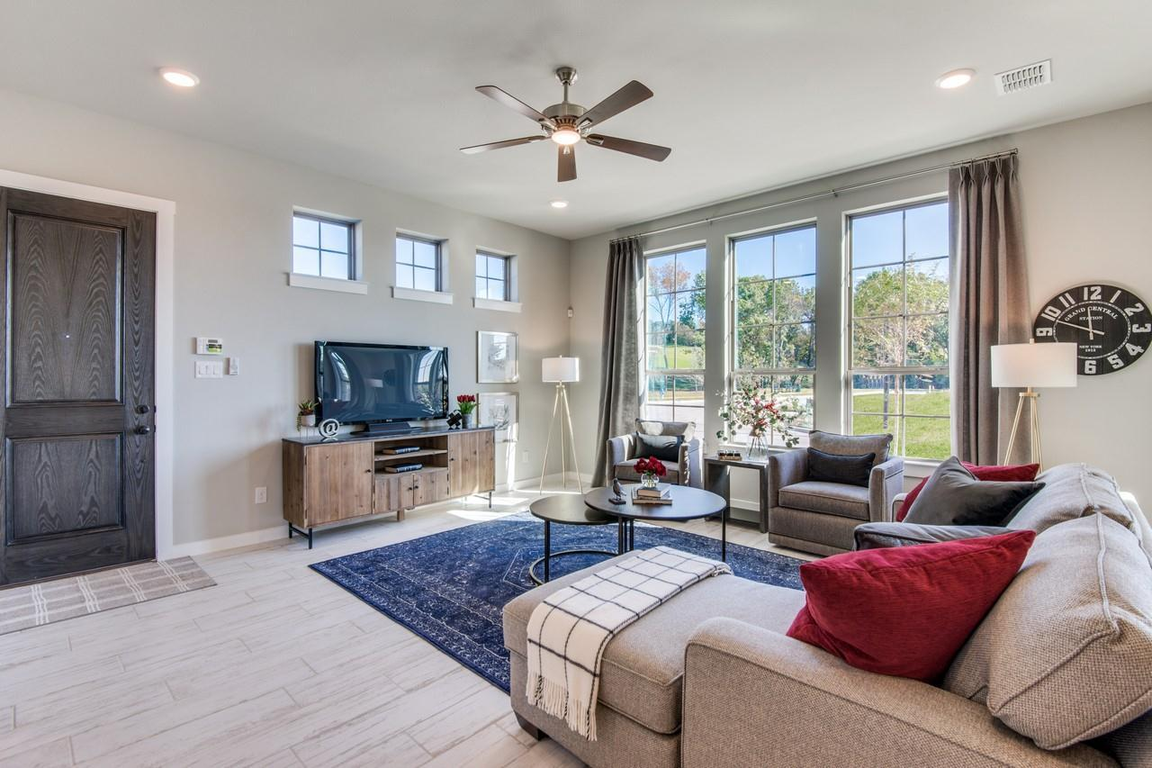 Villas At Southgate In Flower Mound Tx By Cb Jeni Homes