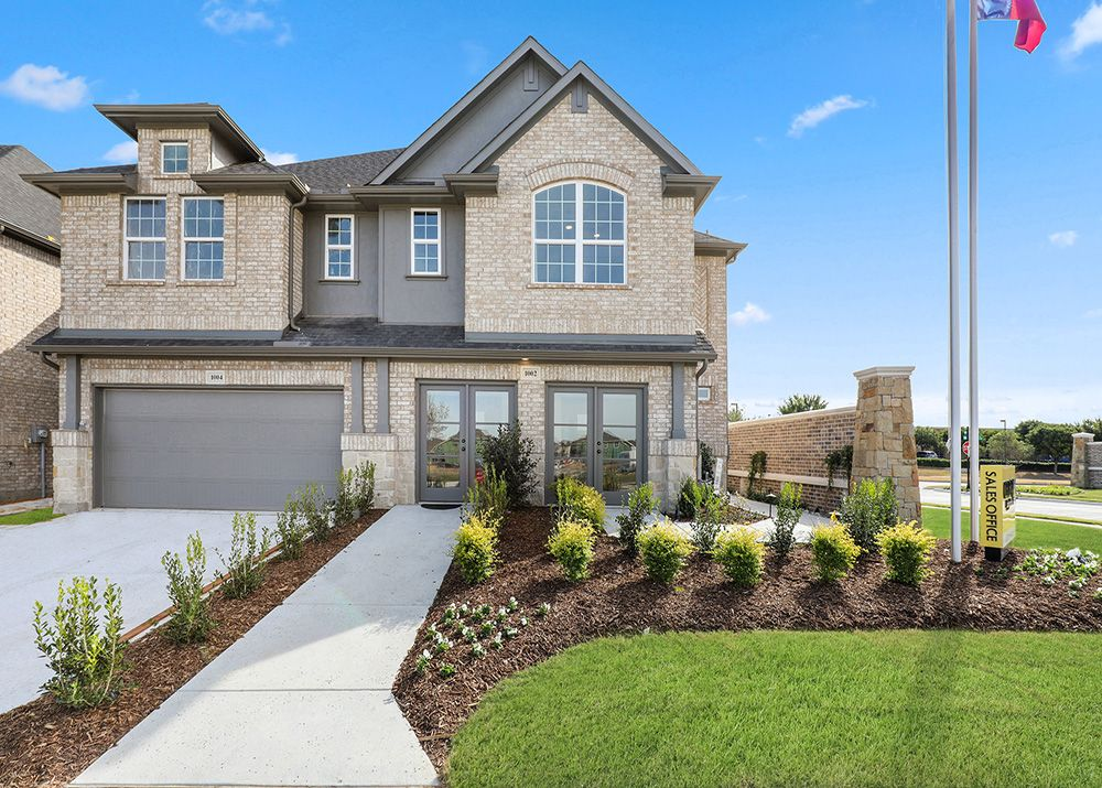 Exterior featured in the Calloway By CB JENI Homes in Dallas, TX