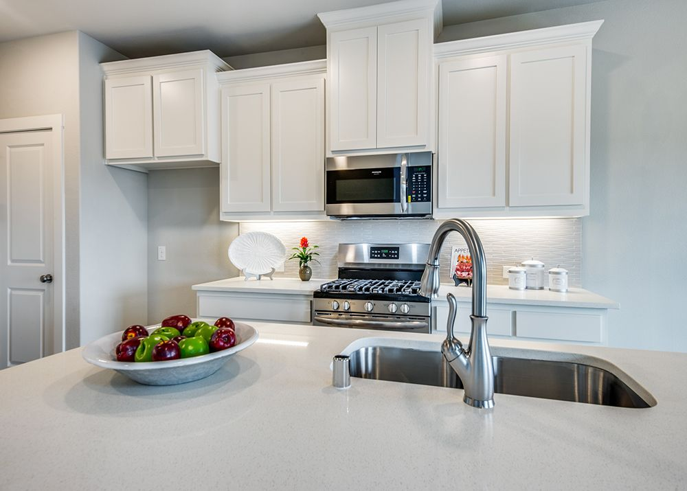 Kitchen featured in the Bridgeport By CB JENI Homes in Dallas, TX
