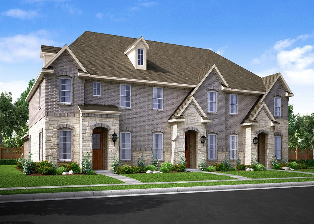 Exterior featured in the Eastbury By CB JENI Homes in Fort Worth, TX